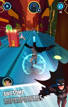 Justice League Action Run 2