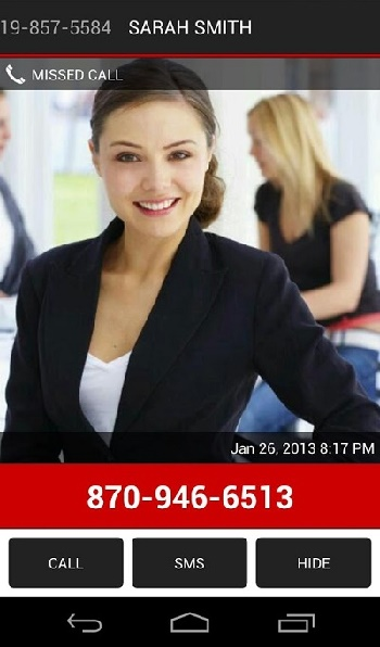 Missed Call SMS Reminder Pro1