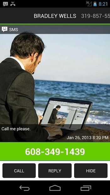 Missed Call SMS Reminder Pro3