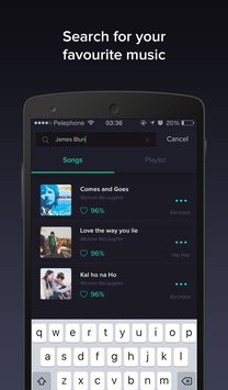 Pindrop Music smart playlists5