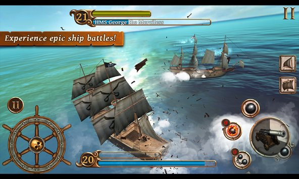 Ships of Battle Age of Pirates 1