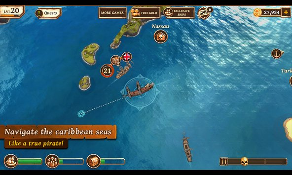 Ships of Battle Age of Pirates 2