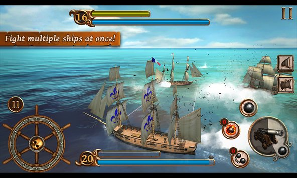 Ships of Battle Age of Pirates 3