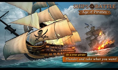 Ships of Battle Age of Pirates logo