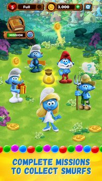 Smurfs Bubble Story2