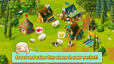 Tiny Sheep Virtual Pet Game