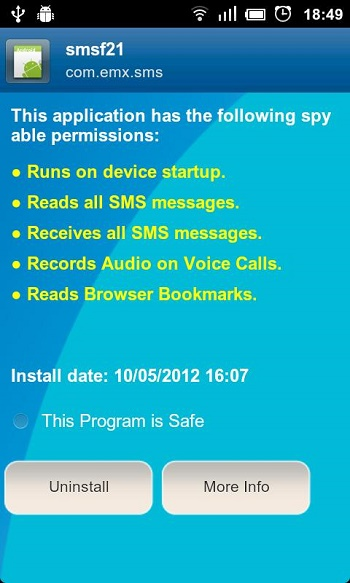 Anti Spy Mobile PRO1