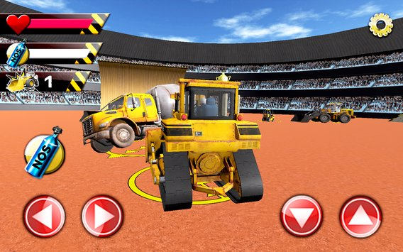 Construction Derby Racing 3D 2