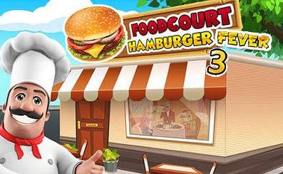 Food Court Fever Hamburger 3 logo