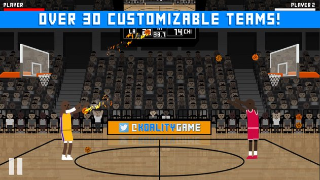 Hardwood Rivals Basketball 3