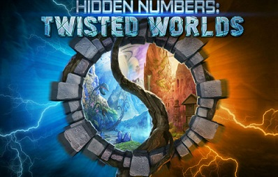 Hidden Numbers Twisted Worlds logo