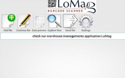 LoMag Barcode Scanner to Excel