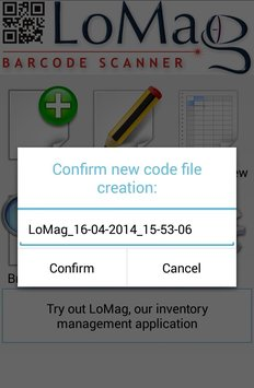 LoMag Barcode Scanner to Excel3