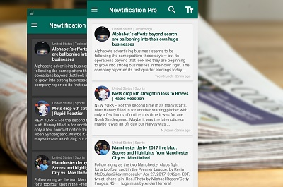 News by Notifications PRO1