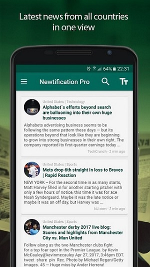News by Notifications PRO3