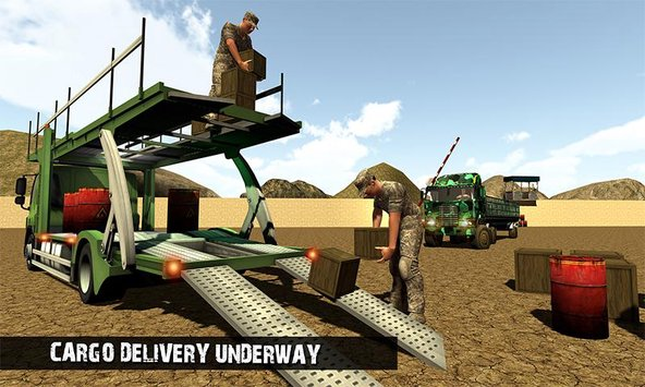 OffRoad US Army Transport Sim 4