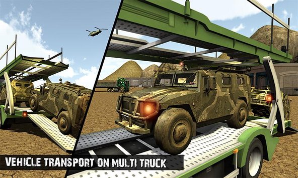 OffRoad US Army Transport Sim 6