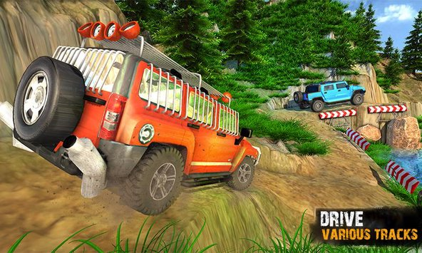 Offroad Jeep Crazy Hill Drive 1