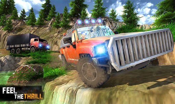 Offroad Jeep Crazy Hill Drive 2
