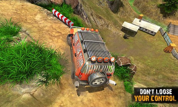 Offroad Jeep Crazy Hill Drive 3