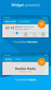 Radio Alarm Clock PocketBell7