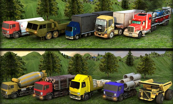 Real Truck Parking Mania 2017 4