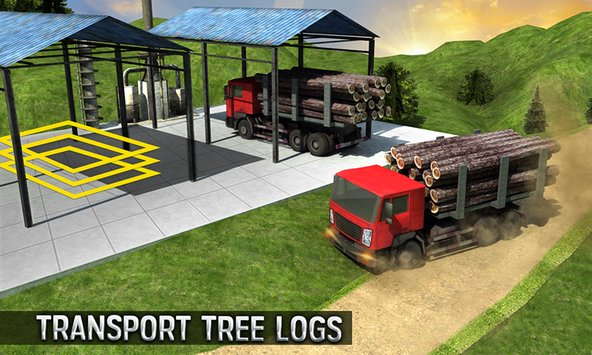 Real Truck Parking Mania 2017 6