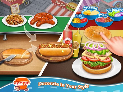 Street Food Stand Cooking Game 4