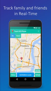 Track GPS Mobile Phone1