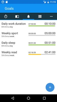 aTimeLogger Time Tracker4