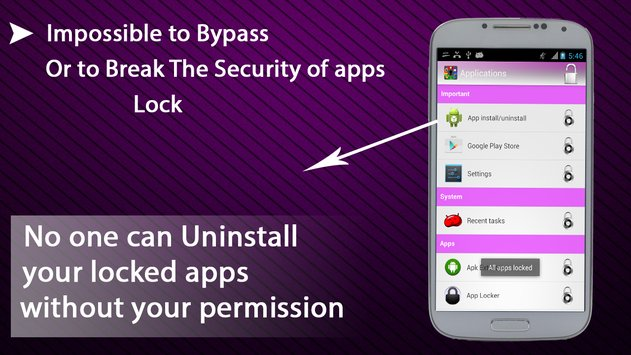 Apps Lock Pattern and Password5