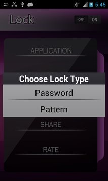 Apps Lock Pattern and Password7