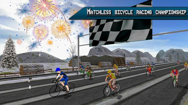 Extreme Bicycle racing 2017 1