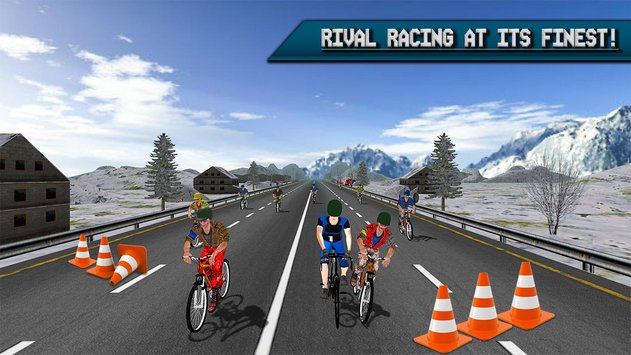 Extreme Bicycle racing 2017 6