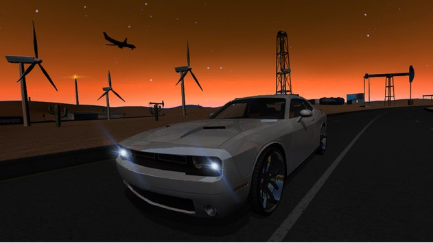 Muscle Car Challenger 4