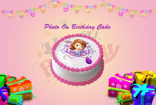 Name Photo On Birthday Cake1