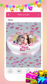 Name Photo On Birthday Cake3
