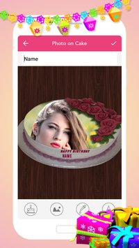 Name Photo On Birthday Cake6