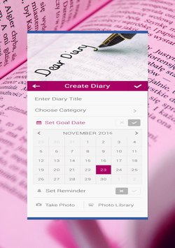 Personal Diary with password2