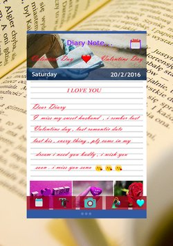 Personal Diary with password3