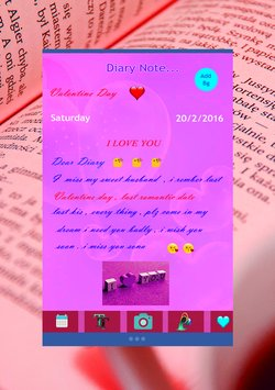 Personal Diary with password4