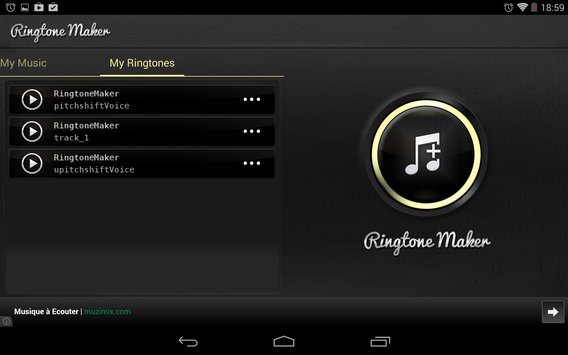 Ringtones maker MP3 10