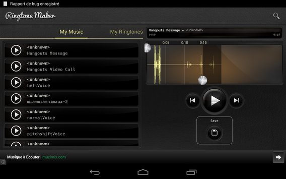 Ringtones maker MP3 11
