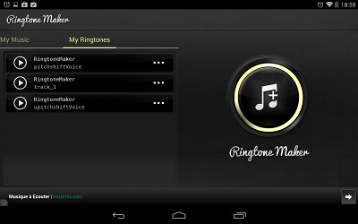 Ringtones maker MP3