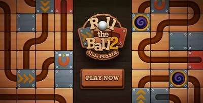 Roll the Ball™ slide puzzle 2 logo