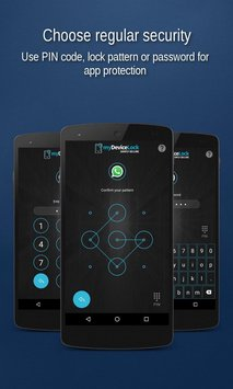 myDeviceLock Biometric AppLock1