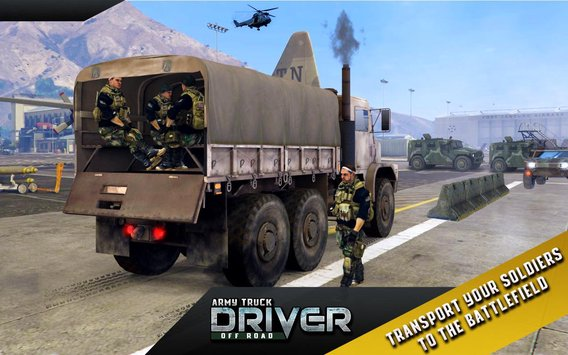 Army Truck Offroad Transport 1