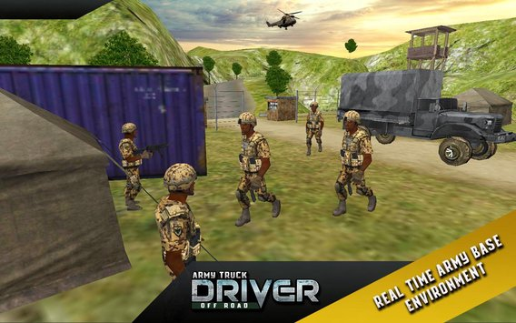 Army Truck Offroad Transport 2