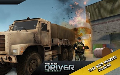 Army Truck Offroad Transport 4