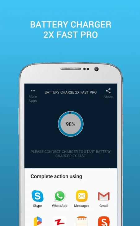Battery Charge 2X Fast Pro 6